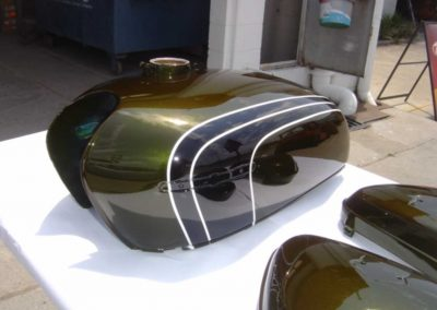 High quality motorcycle paint work
